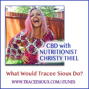 cbd with nutritionist christy thiel podcast cover