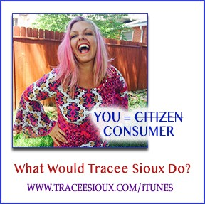 what would tracee sioux do politics podcast cover art